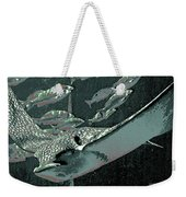 Spotted Eagle Ray Weekender Tote Bag