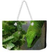 Spotted Gecko Weekender Tote Bag