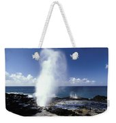 Spouting Horn Blow Hole Weekender Tote Bag