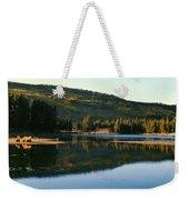 Sprague Lake At Dusk Rocky Mountain National Park Weekender Tote Bag