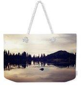 Sprague Lake At Sunset Weekender Tote Bag