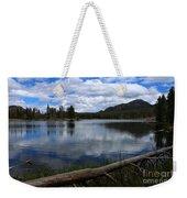 Sprague Lake Cloud Reflection Weekender Tote Bag