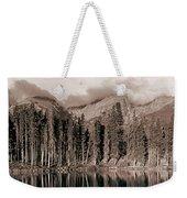 Sprague Lake Morning Weekender Tote Bag