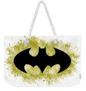 Spray Paint Batman Logo Weekender Tote Bag
