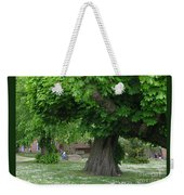 Spreading Chestnut Tree Weekender Tote Bag