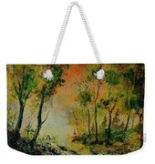 Sprin In Wood 45 Weekender Tote Bag