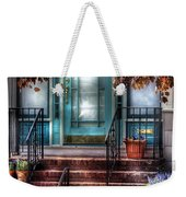 Spring - Door - Apartment Weekender Tote Bag by Mike Savad