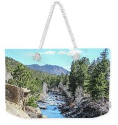 Spring Along The Arkansas Weekender Tote Bag