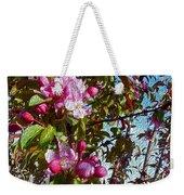 Spring Apple Blossoms- Spring Flowers Weekender Tote Bag