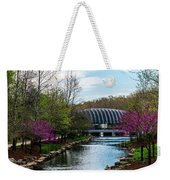 Spring At Crystal Bridges Weekender Tote Bag