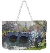 Spring At Delaware Lake Buffalo Weekender Tote Bag