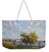 Spring At Gratwick Waterfront Park Weekender Tote Bag