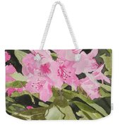 Spring At The Cabin Weekender Tote Bag