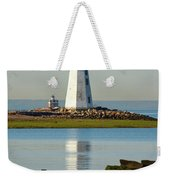 Spring At The Lighthouse Weekender Tote Bag