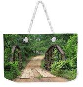 Spring At The Old Bridge Weekender Tote Bag