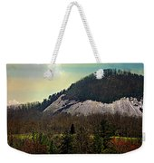 Spring Begins At Glassy Mountain Weekender Tote Bag