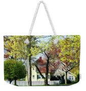 Spring Begins In The Suburbs Weekender Tote Bag