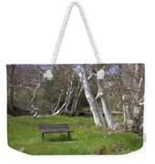 Spring Bench In Sycamore Grove Park Weekender Tote Bag