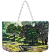 Spring Bloom Table Mountain Weekender Tote Bag