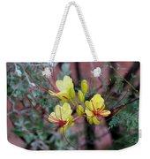 Spring Blooms Yellow Red 052814a Weekender Tote Bag
