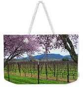 Spring Blossoms Near Calistoga Weekender Tote Bag by Charlene Mitchell