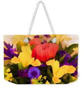 Spring Bouquet Weekender Tote Bag
