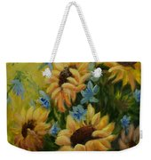 Sunflowers Galore Weekender Tote Bag