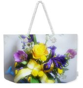 Spring Bouquet Weekender Tote Bag by Sandy Keeton