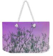 Spring Branches Lavender Weekender Tote Bag