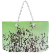 Spring Branches Mint Weekender Tote Bag
