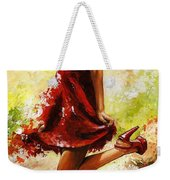 Spring Breeze Weekender Tote Bag