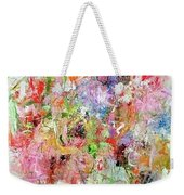Spring Came To My Garden Weekender Tote Bag