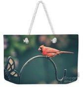 Spring Cardinal Weekender Tote Bag