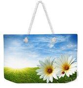 Spring Weekender Tote Bag by Carlos Caetano