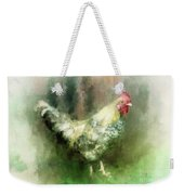 Spring Chicken Weekender Tote Bag