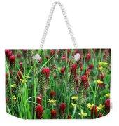 Spring Clover Weekender Tote Bag