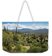 Spring Color In The Desert Weekender Tote Bag