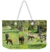 Spring Colts Weekender Tote Bag