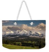 Spring Comes To The High Tatra Mountains In Poland Weekender Tote Bag