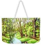 Spring Creek Weekender Tote Bag