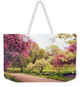 Spring Crescendo Weekender Tote Bag