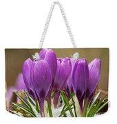 Spring Crocus Weekender Tote Bag