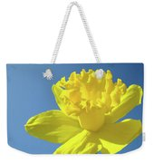 Spring Daffodil Flowers Art Prints Blue Sky Baslee Troutman Weekender Tote Bag