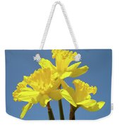Spring Daffodil Flowers Art Prints Canvas Framed Baslee Troutman Weekender Tote Bag