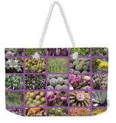 Spring Desert Collage Weekender Tote Bag