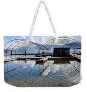 Spring Docks On Priest Lake Weekender Tote Bag