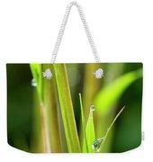 Spring Droplets Weekender Tote Bag