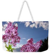Spring Evening Weekender Tote Bag