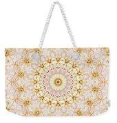 Spring Fantasy Floral Mandala Weekender Tote Bag