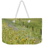 Spring Fenceline Fantasy Weekender Tote Bag